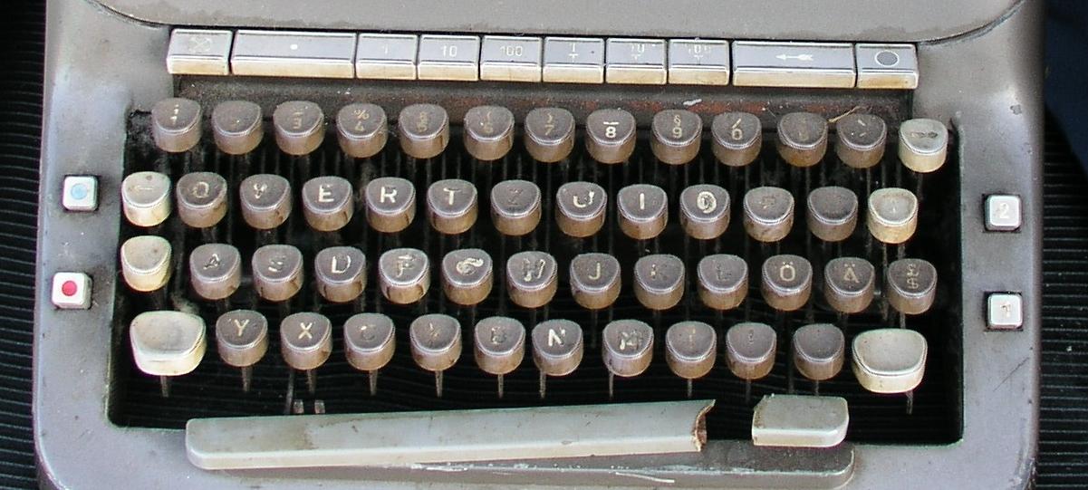 Adieu Schreibmaschine